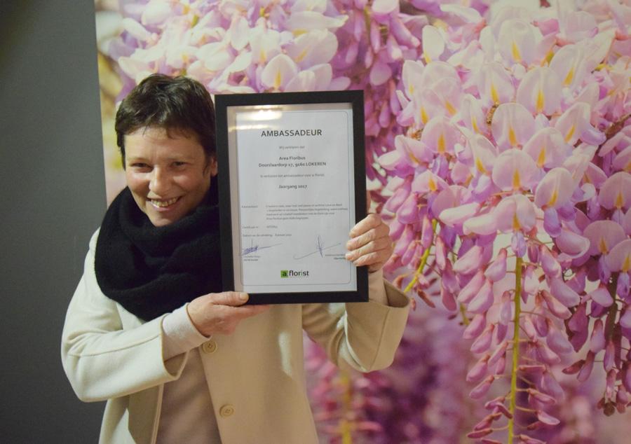 A-florist ambassadeur 2017