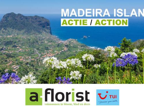 Wedstrijd A-Florist reis te winnen naar Madeira